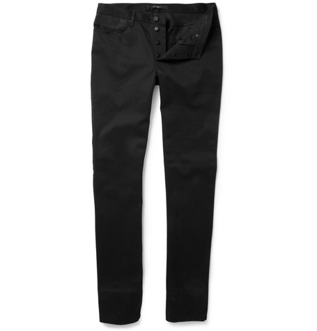 Givenchy Leather Waistband Slim-Fit Jeans