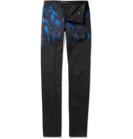 Givenchy Blue-Washed Slim Fit Jeans