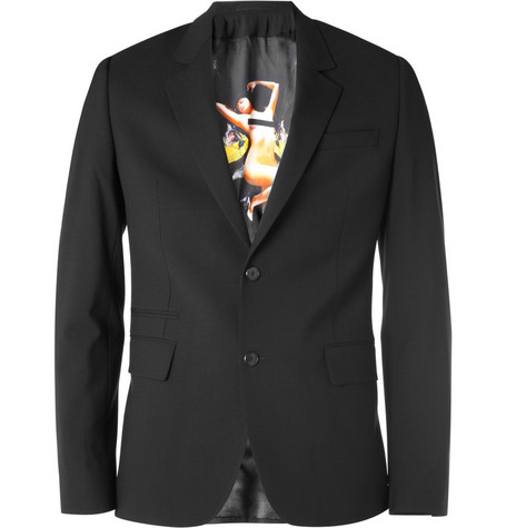 Givenchy Pin Up-Lined Wool-Blend Blazer