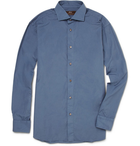 Brioni Washed Cotton Shirt