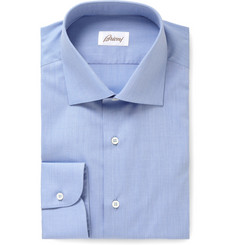 Brioni Light Blue Classic Cotton Shirt