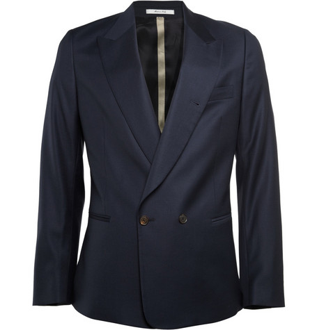 Paul Smith Double Breasted Wool Suit Jacket