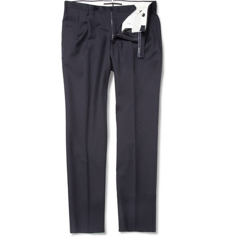 Slowear Incotex Slim-Fit Wool-Twill Trousers