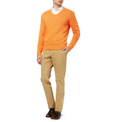 Slowear Incotex Lightweight Slim-Fit Cotton-Blend Chinos