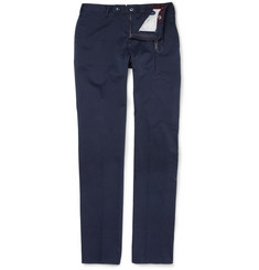 Slowear Incotex Lightweight Straight-Leg Cotton Chinos