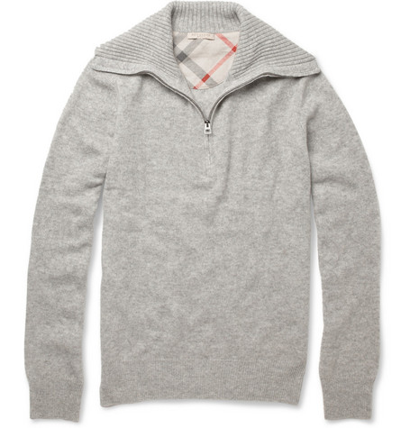 Burberry Brit Zipped Cashmere Sweater