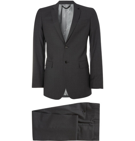 Burberry London Slim-Fit Wool Suit