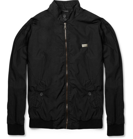 Dolce & Gabbana Slim-Fit Cotton Bomber Jacket