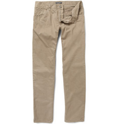 Dolce & Gabbana Slim-Fit Cotton Trousers