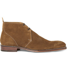 Grenson Smith Suede Desert Boots