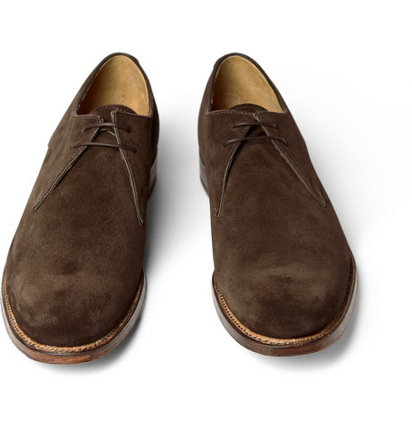 Grenson Roger Suede Derby Shoes