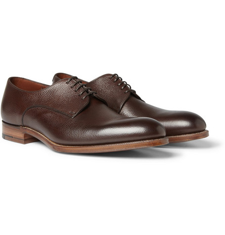 Grenson Gzero Leather Derby Shoes