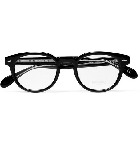 Oliver Peoples Round Optical Glasses