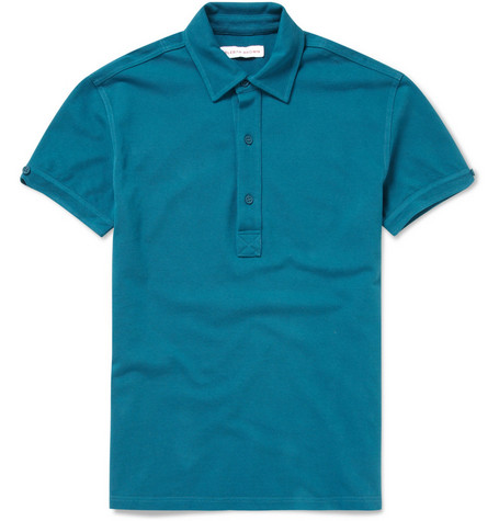Orlebar Brown Sebastian Cotton-Piqué Polo Shirt
