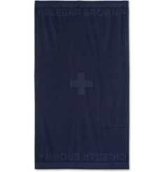 Orlebar Brown Baron Cotton-Piqué Beach Towel