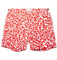 Orlebar Brown - Bulldog Mid-Length Water-Print Swim Shorts