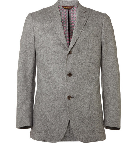 Billy Reid Heirloom Tweed Wool Suit Jacket