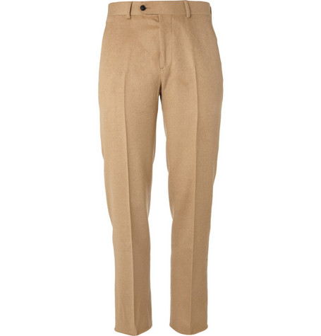 Billy Reid Heirloom Straight-Leg Camel Hair Suit Trousers