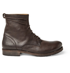 Billy Reid Full Grain Leather Boots