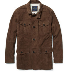 Brooks Brothers Suede Coat