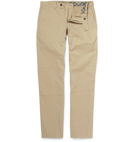 Brooks Brothers Milano Cotton Chinos