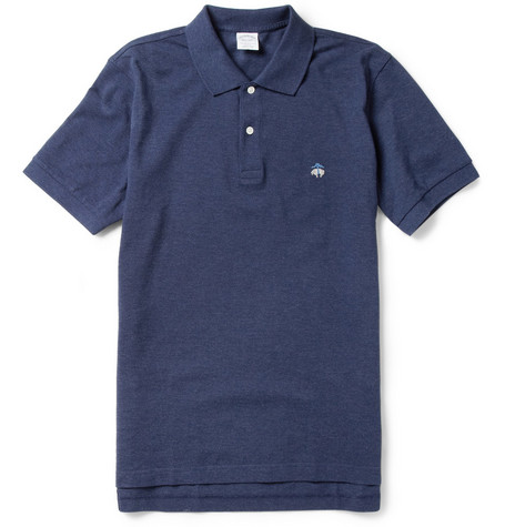 Brooks Brothers Slim-Fit Cotton-Piqué Polo Shirt