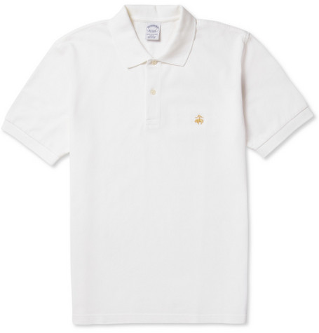 Brooks Brothers Cotton-Piqué Polo Shirt