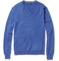 Brooks Brothers - V-Neck Cotton Sweater