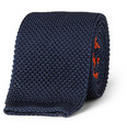 Brooks Brothers Slim Knitted Silk Tie