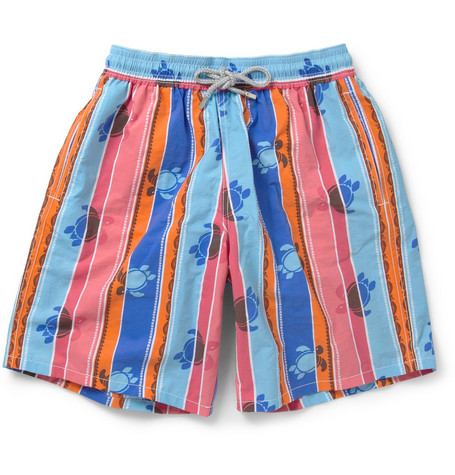 Vilebrequin Okoa Long-Length Patterned Swim Shorts