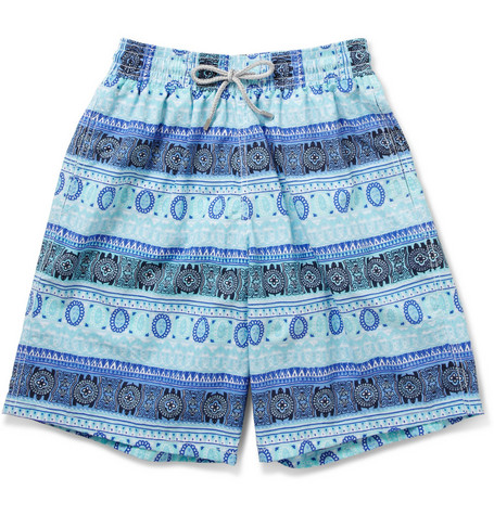 Vilebrequin Okoa Sari Long-Length Patterned Swim Shorts