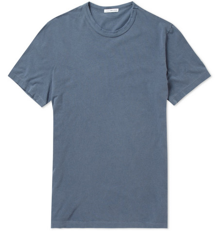 James Perse Cotton-Jersey Crew Neck T-shirt