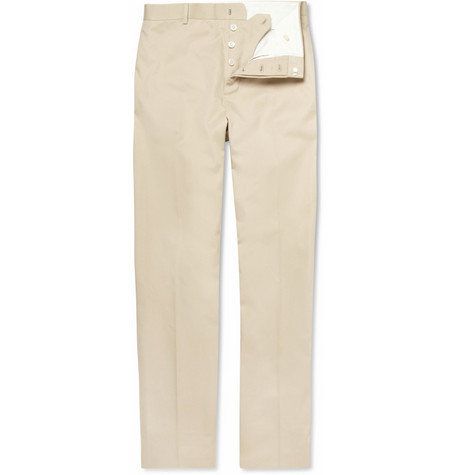 Black Fleece Straight-Leg Cotton-Twill Chinos