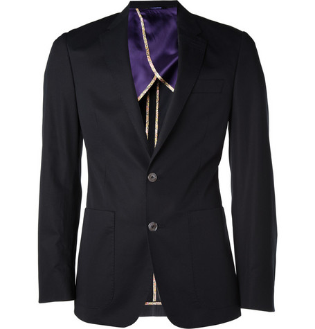 Paul Smith London Half-Lined Cotton Blazer