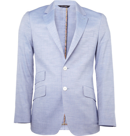 Paul Smith London Byard Unlined Cotton Blazer