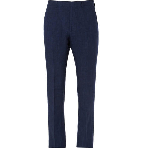 Paul Smith London Slim-Fit Linen Trousers