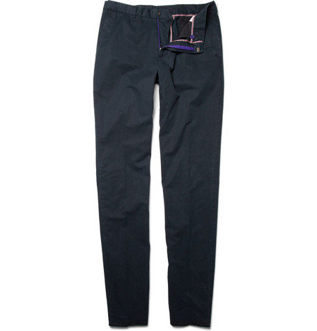 Paul Smith London Slim-Fit Washed-Cotton Chinos