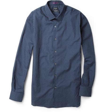 Paul Smith London Polka-Dot Cotton Shirt