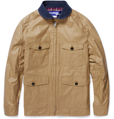 Junya Watanabe Coated-Cotton Jacket