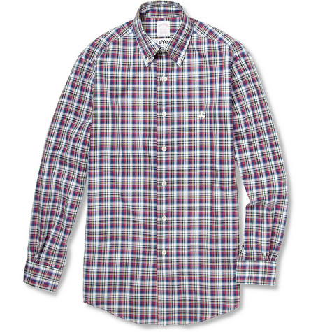Junya Watanabe Brooks Brothers Plaid Cotton Shirt