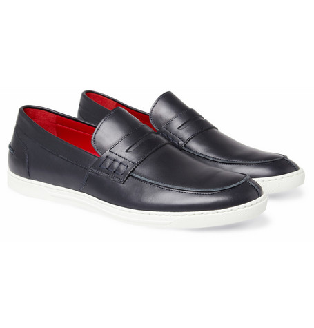 Junya Watanabe Tricker's Steer Rubber-Sole Leather Loafers