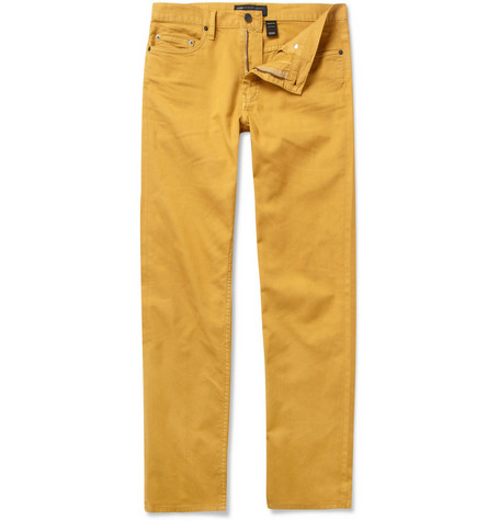 Marc by Marc Jacobs Slim-Fit Cotton Trousers