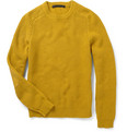 Marc by Marc Jacobs Elbow Patch Cotton-Blend Sweater