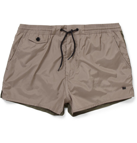 Marc by Marc Jacobs Short-Length Two-Tone Swim Shorts