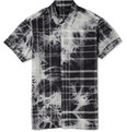 Marc by Marc Jacobs Tie Dye and Check Cotton Shirt