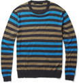 Marc by Marc Jacobs - Striped Silk-Blend Sweater