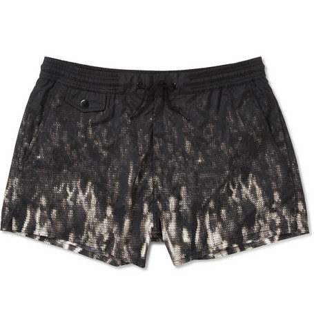 Marc by Marc Jacobs Short-Length Digital-Print Swim Shorts