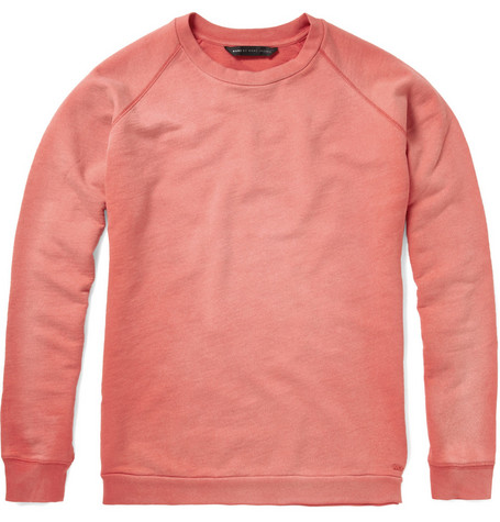 Marc by Marc Jacobs Washed Cotton Sweatshirt