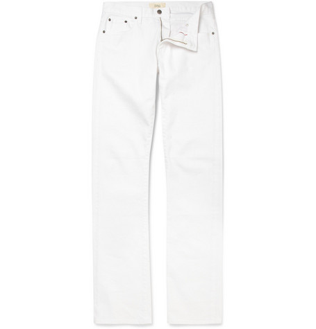 Simon Spurr Slim-Fit Selvedge Denim Jeans