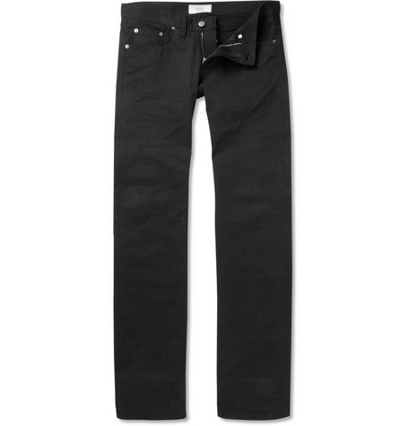 Simon Spurr Raw Straight-Leg Jeans